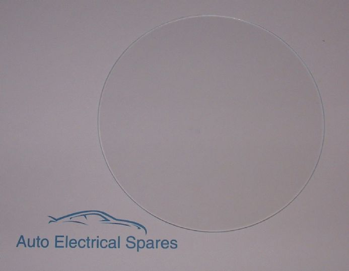 010165 FLAT glass 125.5mm for 5